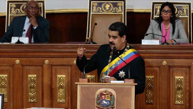Maduro denuncia a subordinados de EEUU y pide reunión con Trump