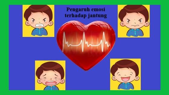 emosi marah, sedih, kesal dan senang dapat mempengaruhi kerja jantung seseorang