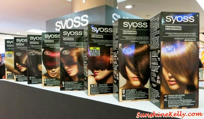 SYOSS Color, hair color, syoss