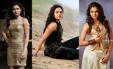 Beautiful Indian Model Andrea Jeremiah Photos From Tamil Movie