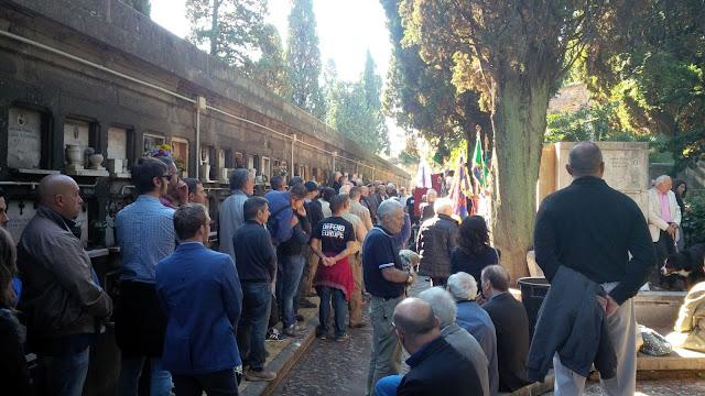 Risultati immagini per avanguardia verano roma commemorazione rsi