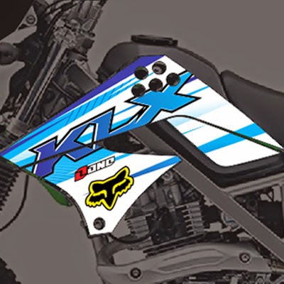KLX Fox Blue