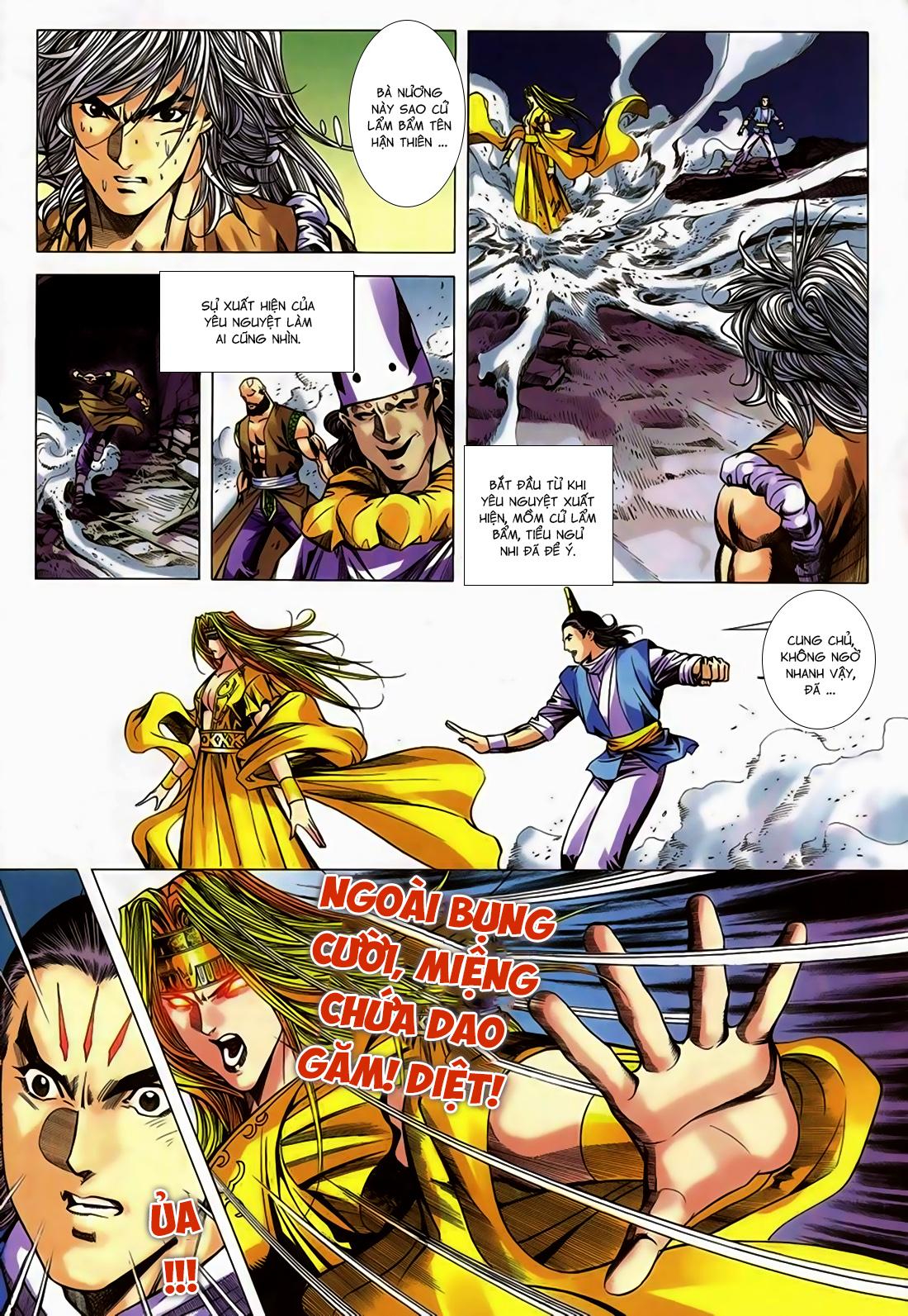 Song Hùng Kỳ Hiệp Chap 251 - Trang 4