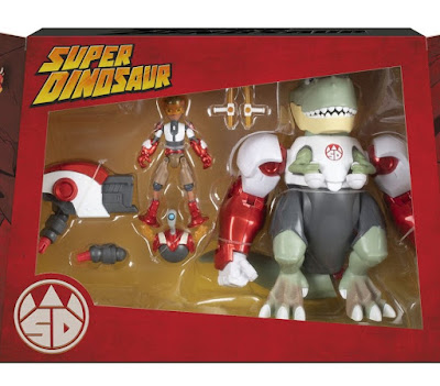 San Diego Comic-Con 2019 Super Dinosaur Action Figure Box Set by Skybound x Spin Master