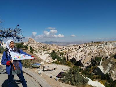 Pemandangan di Cappadocia
