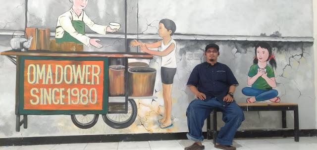 Lukis Dinding Mural Branding