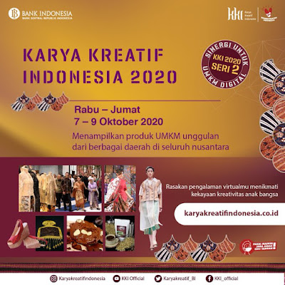 Pameran Virtual Karya Kreatif Indonesia 2020
