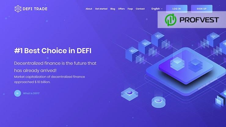 DeFi Trading LTD обзор и отзывы HYIP-проекта