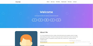 Course Blogger Template 2019