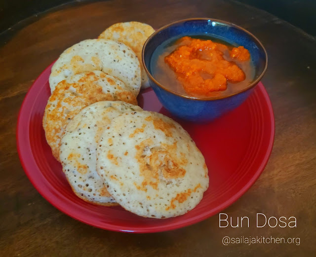 images of Bun Dosa Recipe / Soft Thick spongy Dosa Recipe - Dosa Recipes