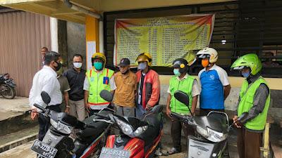 Sat Resnarkoba Polres Lingga Lakukan Penyuluhan Bahaya Penyalahgunaan  Narkoba Kepada Pengemudi  Ikatan Ojek Dabo Singkep