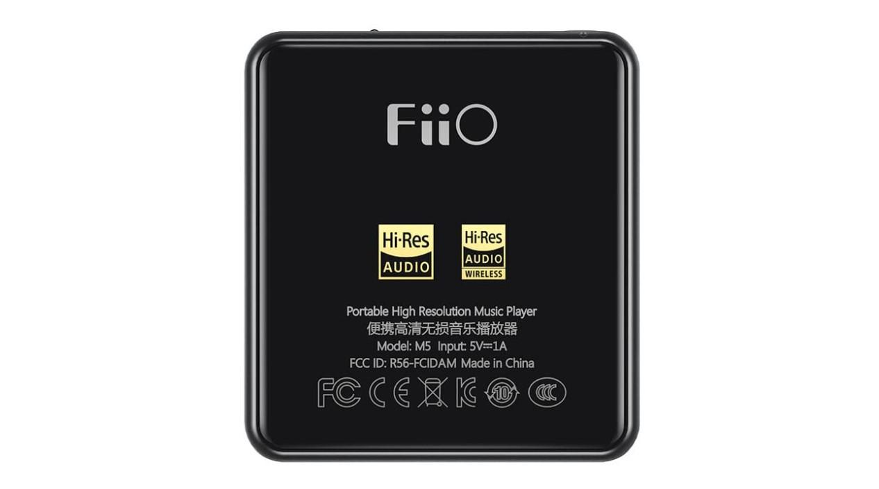 tampilan unit Fiio M5