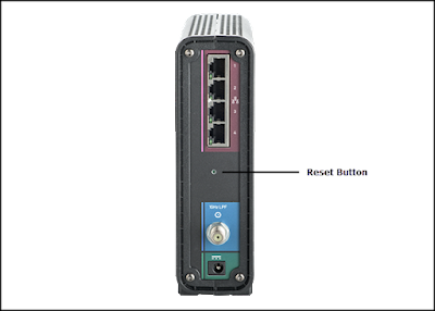 Arris Router Reset