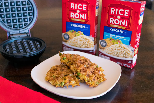 How to Make Rice-A-Roni Savory Mini Waffles