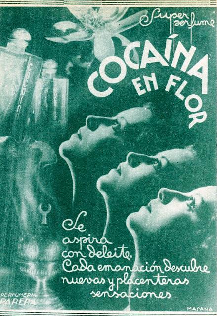 perfume, cocaína en flor,