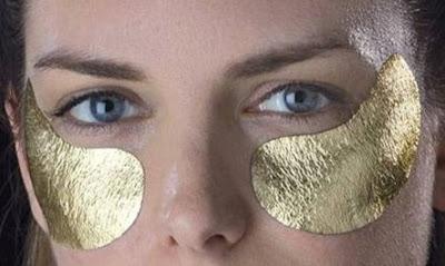 Parche de oro para ojos