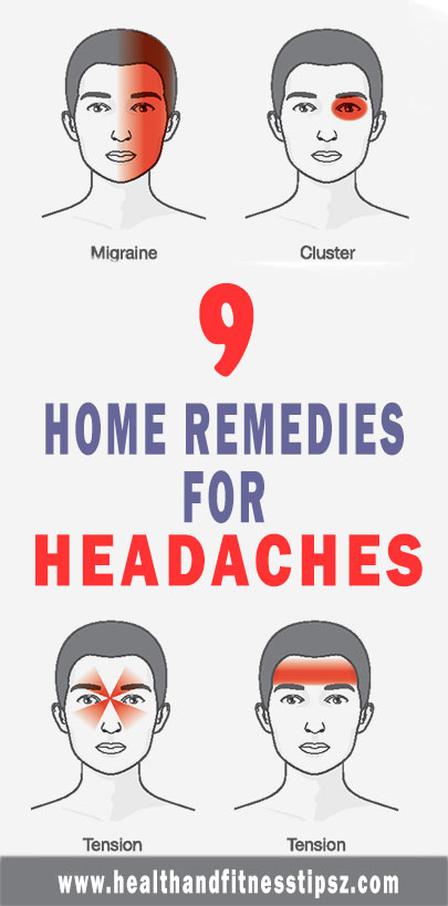 9 home remedies for head ache