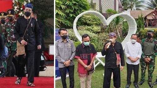 """Jokowi """"Effect"""", Pakaian Suku Baduy Laris Manis di Pasaran, Pejabat sampai Tak Kebagian"""