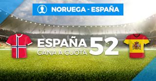 Paston Megacuota Noruega vs España 12-10-2019