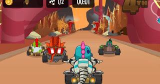 Kizi Kart Racing jogo online grátis