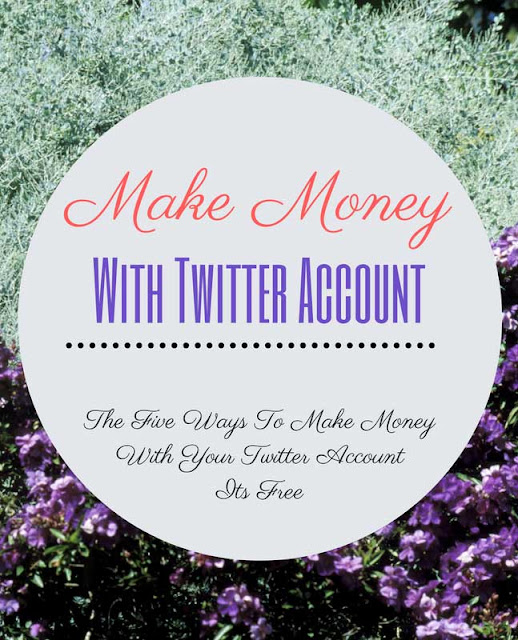 How To Make Money With Your Twitter Account, Earning-money-with-social-media