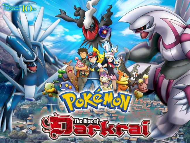 Pokemon The Movie The Rise Of Darkrai Animepisode Animepisode