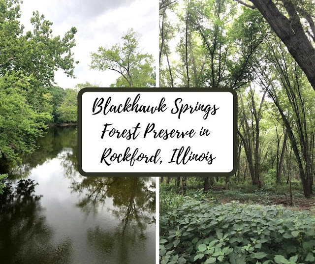 Blackhawk Springs Forest Preserve in Rockford, Illinois