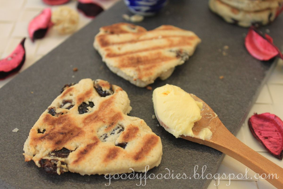 Current Welsh Cakes Recipe