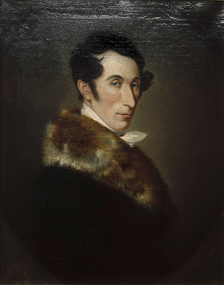 Carl Maria Weber painted in 1825 by Ferdinand Schimon