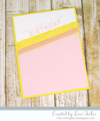 Cue the Confetti card-designed by Lori Tecler/Inking Aloud-stamps from Reverse Confetti