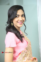Actress Ritu Varma Pos in Beautiful Pink Anarkali Dress at at Keshava Movie Interview .COM 0118.JPG