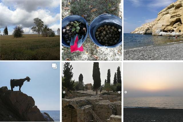 Collage Instagram-Fotos Oktober 2018