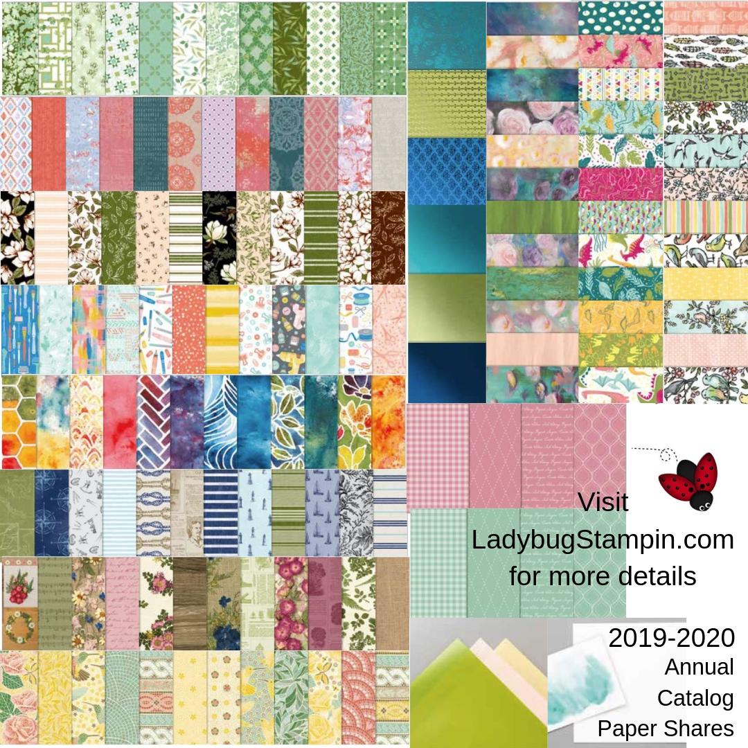 Ladybug Stampin: 2019-2020 Annual Catalog Shares & Bundle Deals