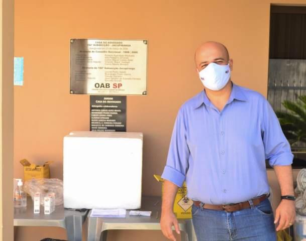 OAB Jacupiranga realiza campanha de vacinação contra a gripe