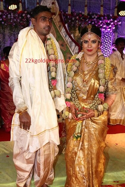 Radhika Sarathkumar Daughter Rayanne Wedding photo