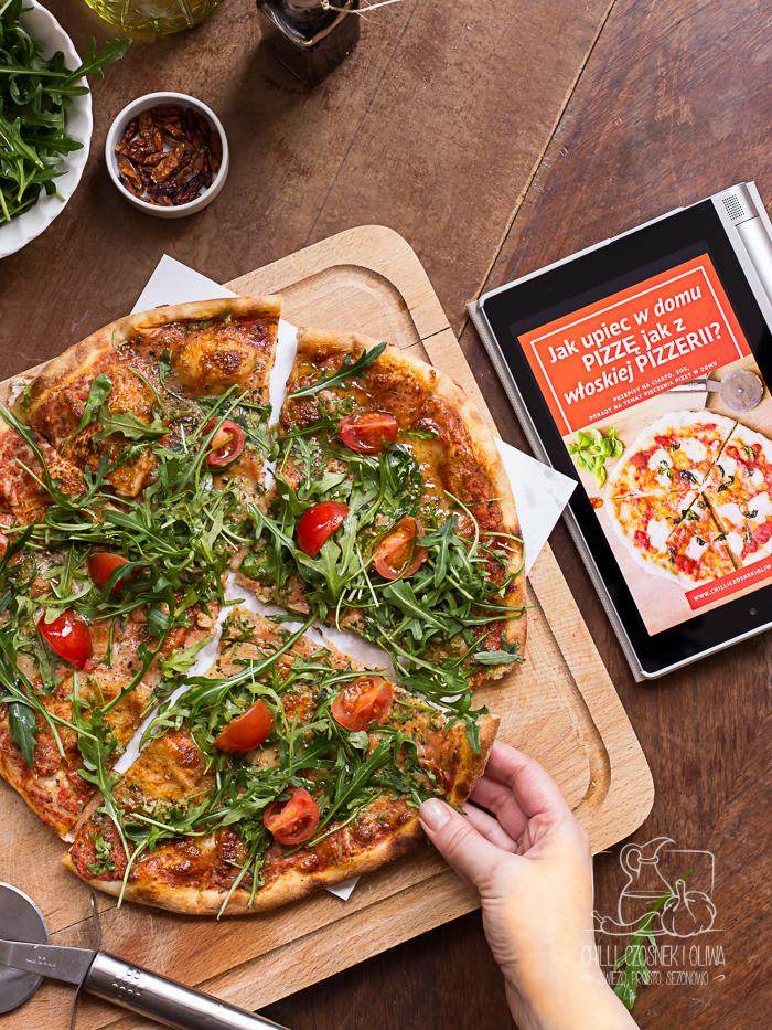 darmowy ebook jak upiec pizzę w domu Chilli, Czosnek i Oliwa