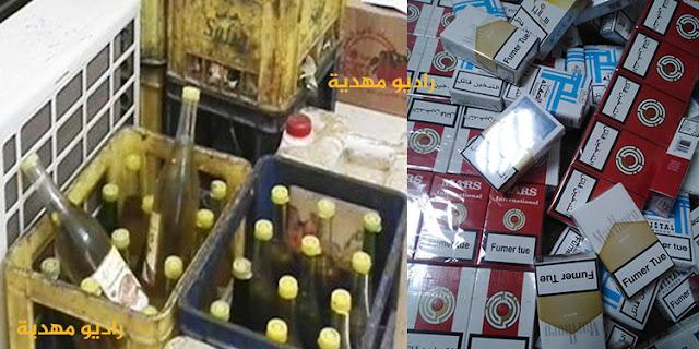 المهدية : حجز 1000 علبة سجائر و 1700 لتر من الزيت النباتي المدعم