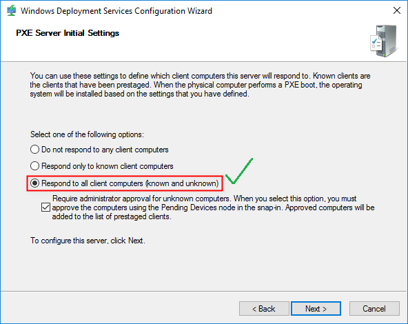 How to Set Up WDS in Windows Server 2016 - TECHSUPPORT
