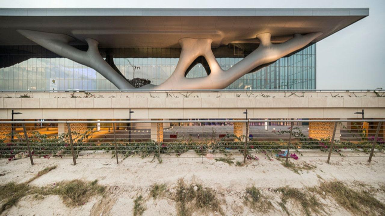 arquitectura organica con curvas