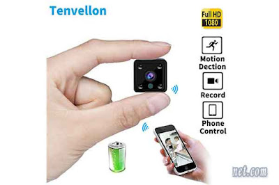 Tenvellon Mini Wifi IP Camera
