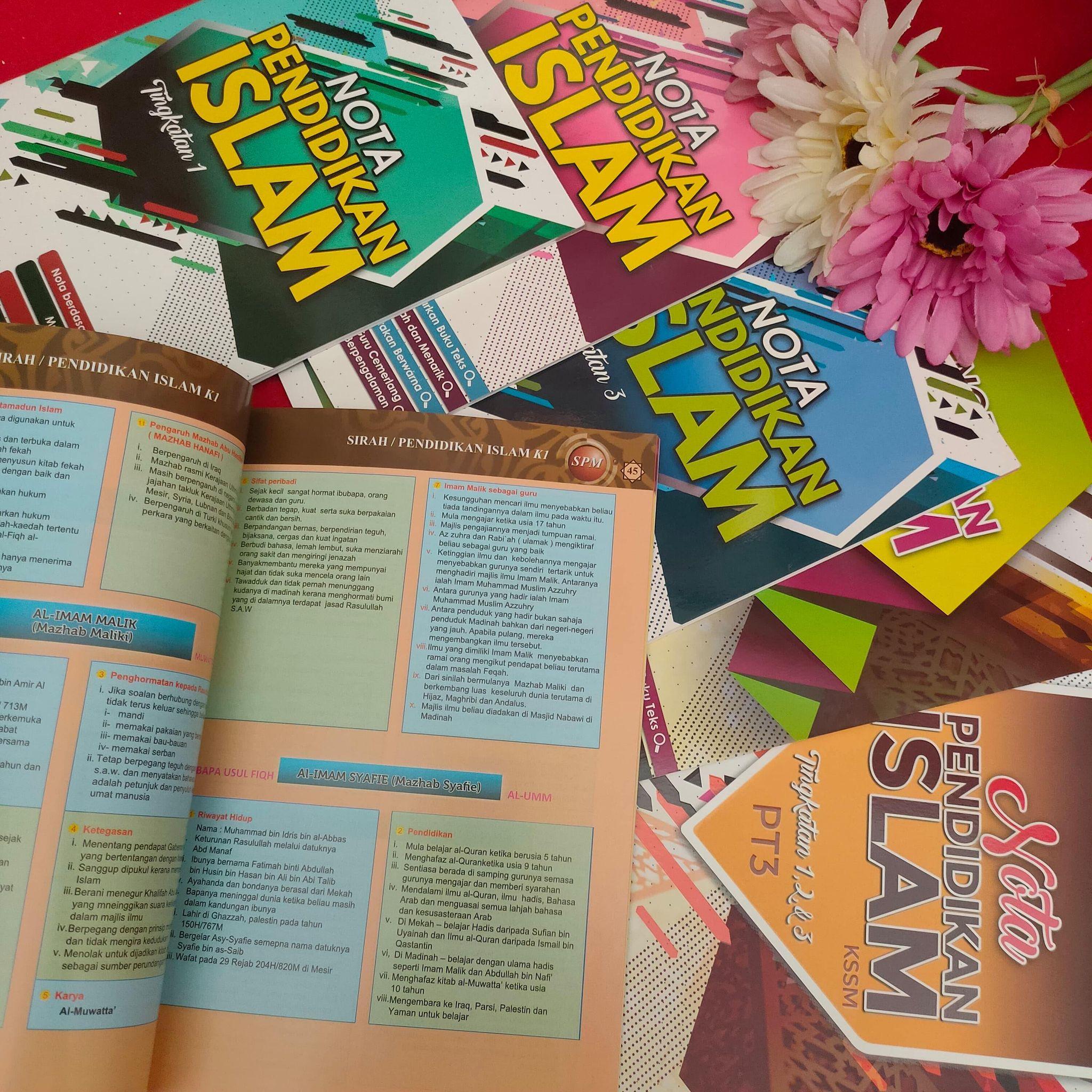 Daftar pustaka hanya berbagai sumber rujukan yang dikutip dalam dokumen. Buku Rujukan Pendidikan Islam Yang Padat Dan Warna Warni Buat Anak Sekolah Menengah Enchanted Life Begins