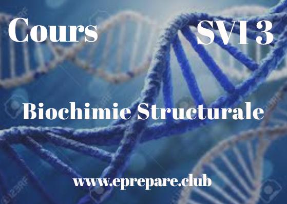 Cours de Biochimie Structurale SVI 3 PDF