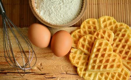 Huevos y harina