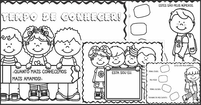 Caderno de Atividades Tempo de Conhecer Volta às Aulas Educação Infantil