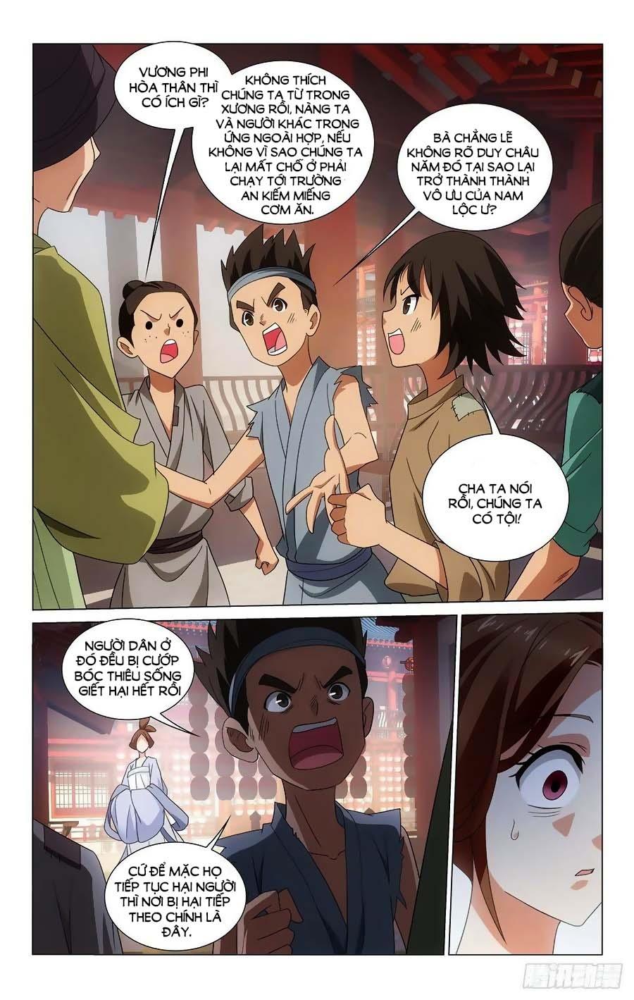 Vương Gia ! Không nên a ! chap 350 - Trang 12