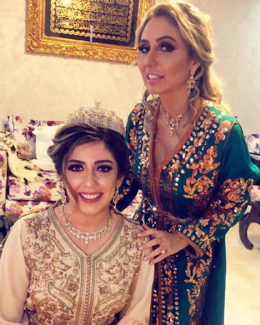 robe caftan de mariage haute couture