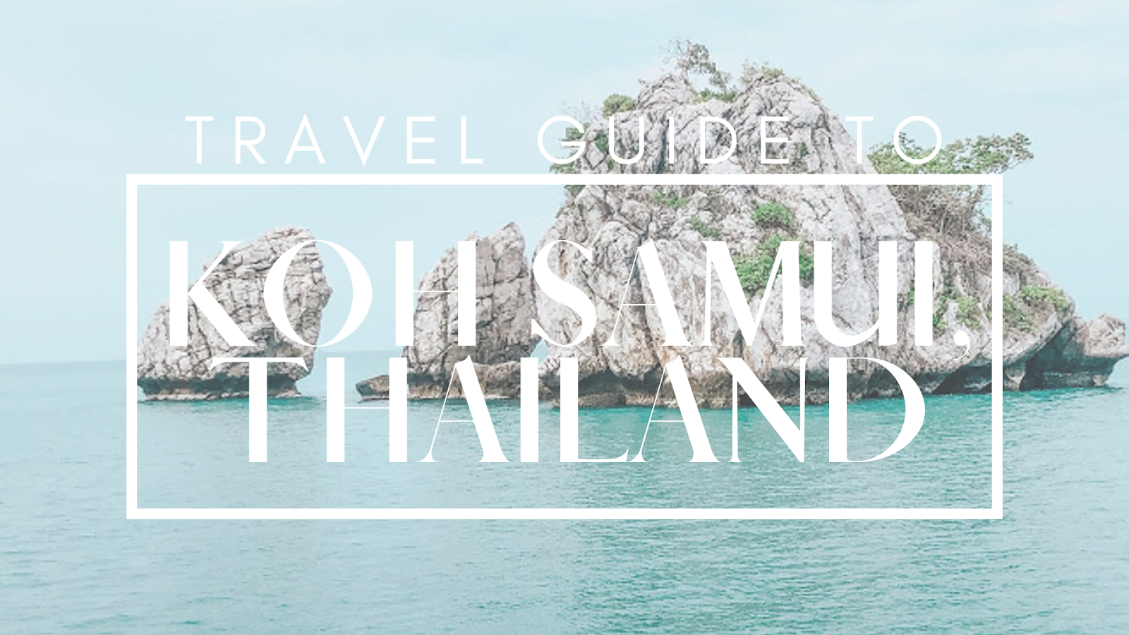travel guide to oh samui, thailand