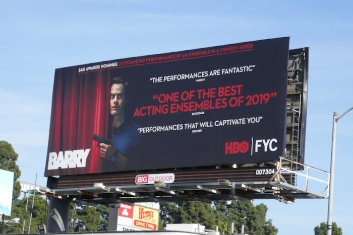 Barry season 2 SAG Awards nominee billboard
