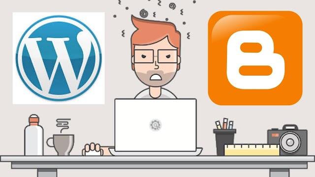Blogger VS Wordpress   আপনার ব্লগিং কোনটি দিয়ে শুরু করা উচিত? কেন?