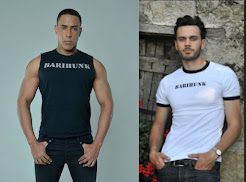 Look as sexy as Donovan Singletary & Malte Roesner in your own barihunk tee shirt